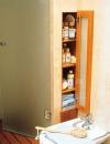 افكار لتنظيم تخزين الاشياء في الحمامات الصغيرة