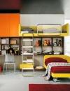تصاميم ايطالية لغرف نوم الاولاد4
