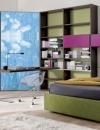 تصاميم ايطالية لغرف نوم الاولاد9