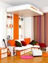 تصاميم غرف نوم صغيرة 5