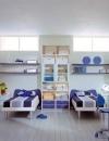 كيفية عمل تصاميم غرف اولاد وبنات مشتركة4