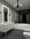 افكار تصاميم حمام ارت ديكو