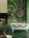 50 فكرة لتصاميم حمام من الفسيفساء1