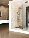 50 فكرة لتصاميم حمام من الفسيفساء38