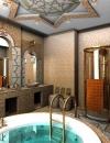 50 فكرة لتصاميم حمام من الفسيفساء45
