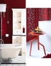 تصاميم وديكورات حمام باللون الاحمر13