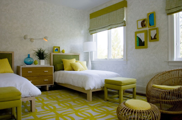 غرف نوم انيقة مشتركة للفتيات