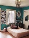 تصاميم غرف نوم بوهيمية11