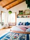تصاميم غرف نوم بوهيمية8