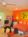 تصاميم غرف نوم صبايا ملونة
