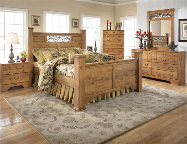 تصاميم غرف نوم بستايلات ريفية