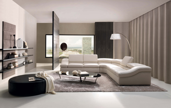 افكار تصاميم غرف معيشة بموديلات حديثة