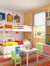 افكار تصاميم غرف اطفال مشرقة1