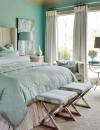 تصاميم داخلية لغرف نوم بسيطة ومضيئة3