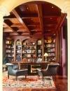 تصاميم مكتبات منزلية مميزة7