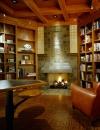 تصاميم مكتبات منزلية مميزة9