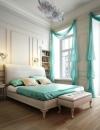 غرف نوم انيقة بدرجات اللون الازرق3