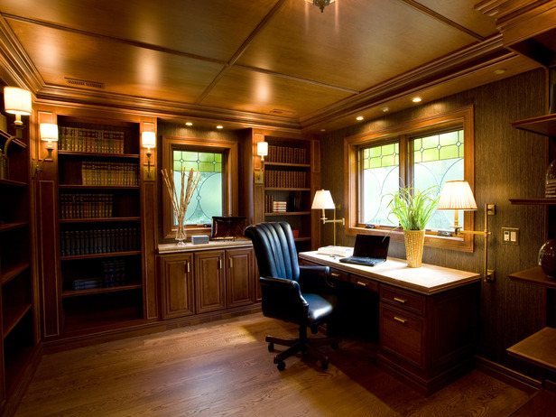 for Custom home office design ideas
