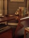 افكار تصاميم شيك لمكاتب منزلية باللون البني7