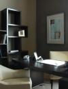 افكار تصاميم شيك لمكاتب منزلية باللون البني12