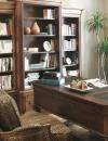 افكار تصاميم شيك لمكاتب منزلية باللون البني30