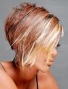 تسريحات شعر ملون 20135