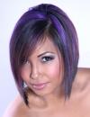تسريحات شعر ملون 20137