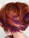 تسريحات شعر ملون 201310