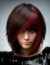 تسريحات شعر ملون 201318