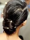احدث تسريحات الشعر لحفلات الزفاف4