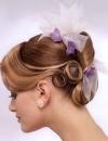 تسريحات شعر متنوعة للعروس13