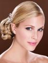 تسريحات شعر متنوعة للعروس14