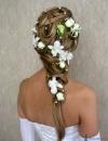تسريحات شعر متنوعة للعروس21