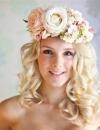 تسريحات شعر متنوعة للعروس5