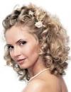 تسريحات شعر متنوعة للعروس6