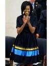 ميشيل أوباما في فستان انيق لازاحة الستار عن تمثال نصفي من Sojourner Truth