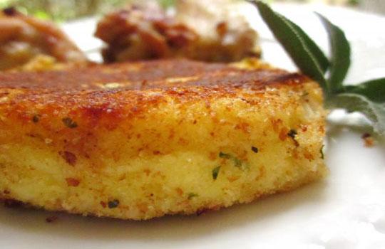 البطاطا مع البارميزان -طبق فرنسي