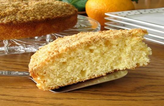 كعكة البرتقال - كوفي كيك