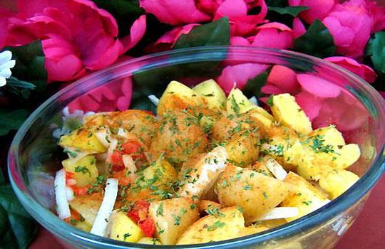 سلطة البطاطس الايطالية