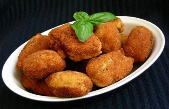 نقانق السمك المقرمش-طبق هنغاري