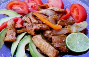 فاهيتا الدجاج المكسيكية