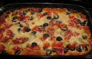 بيتزا سوبريم منخفضة الكربوهيدرات