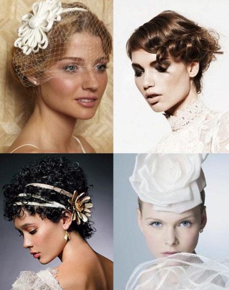 الشعر القصير للعرائس