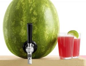 افكار تقديم اطباق خفيفة عصير البطيخ