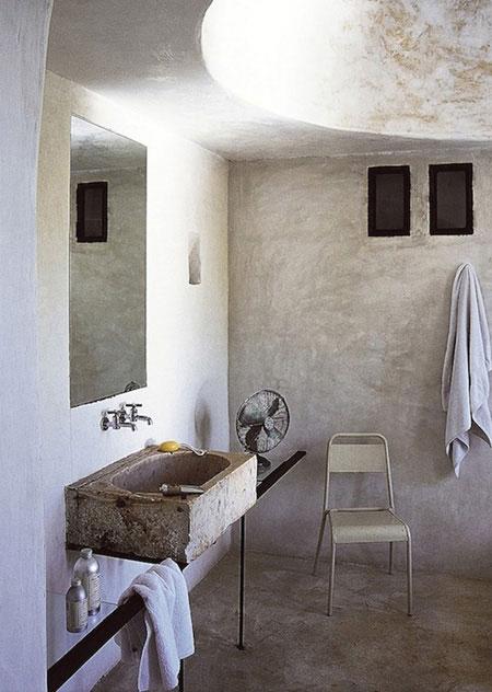 تصاميم حمامات عصرية حجرية مميزة7
