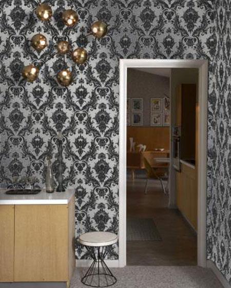 افكار تصاميم ورق جدران حديثة 20133