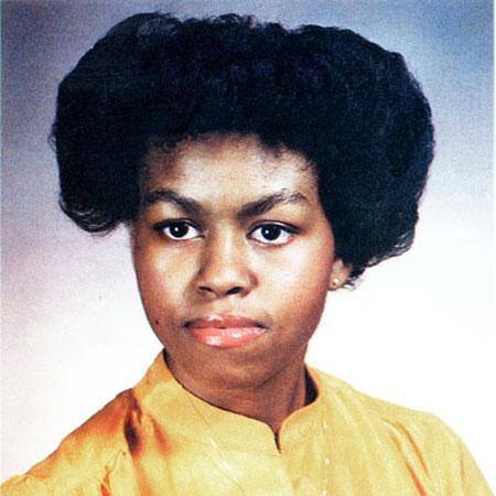 ميشيل اوباما 1981