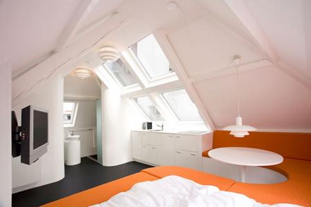 شقة صغيرة  مساحة 29 متر مربع