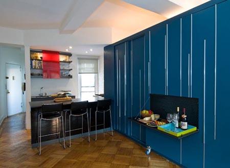 شقة صغيرة  مساحة 41 متر مربع