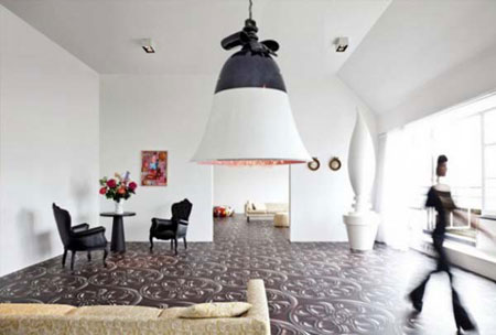 تصاميم ارضيات للغرف المنزلية11